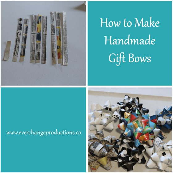 Handmade gift bows were my first upcycling project. Every Christmas, I am flooded with the joy upcycling brings me and I want to share that joy with you.