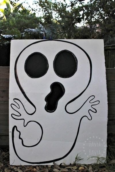 Bean Bag Toss - Wicked Awesome Upcycled Halloween Decorations