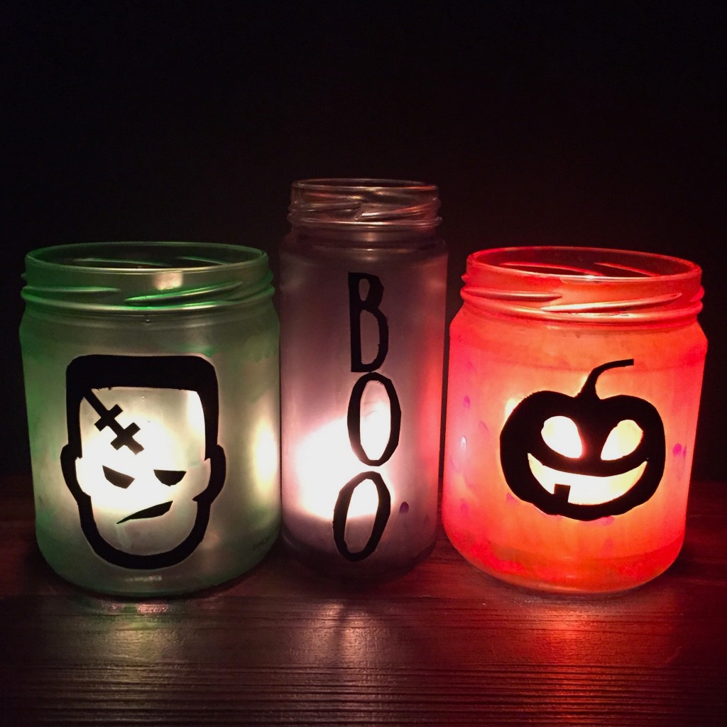 wicked awesome upcycled halloween decorations -
