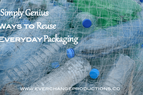 Creative reuse ideas don't have to be complicated. Save time, money and resources with this list of crazy easy ways to reuse everyday packaging.