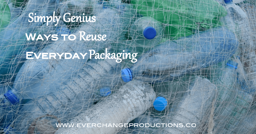 Repurposing doesn't have to be complicated. Save time, money and resources with this list of crazy easy ways to reuse everyday packaging.