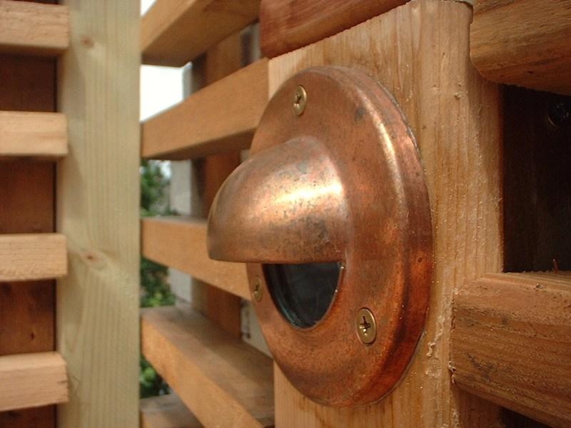 Everchanging Garden Design Hertfordshire Hampstead Copper Lighting