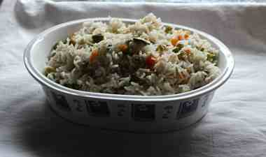 vegetable pulav  Vegetable Pulav/ how to make veg pulav vegetable pilaf 300x177