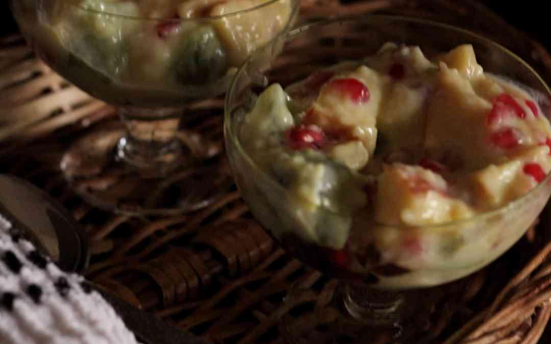 Exotic fruit salad / Custard Fruit Salad