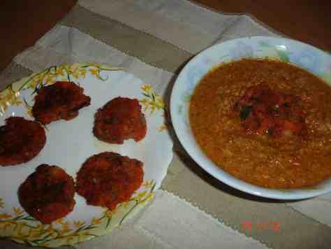 koftas with gravy