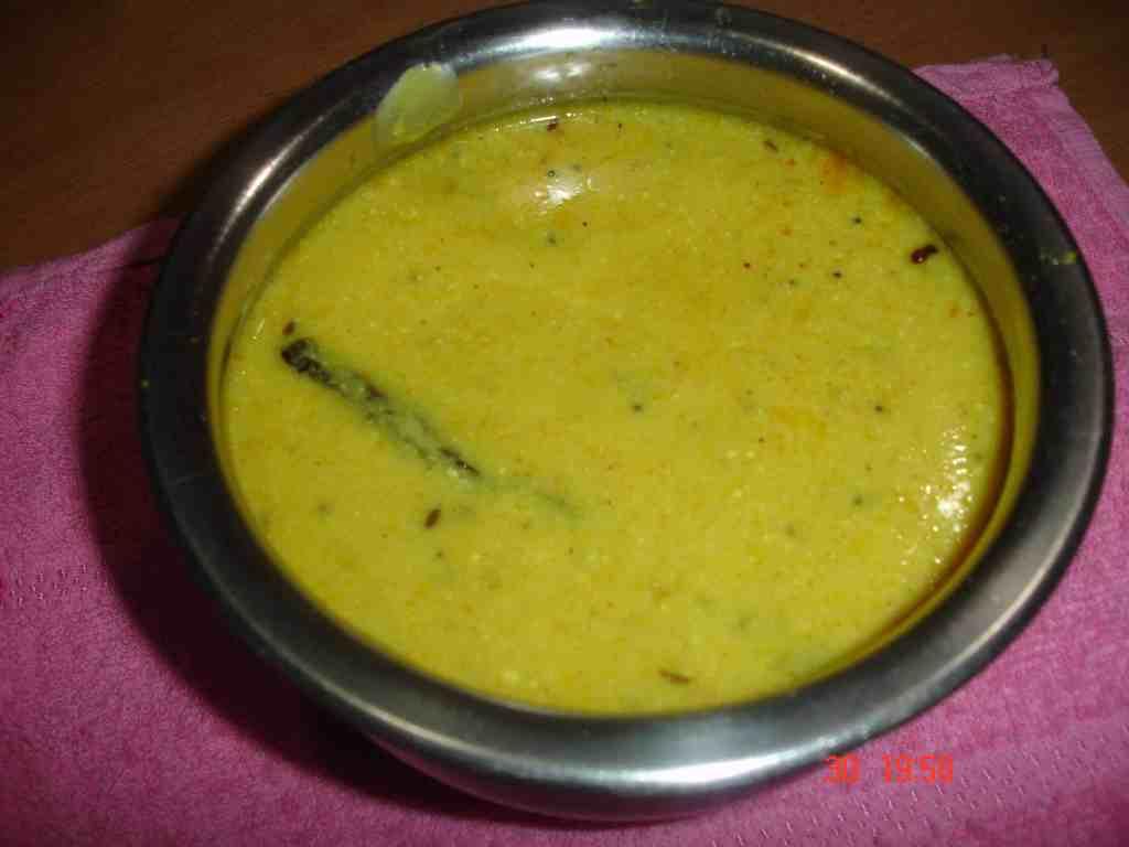 Quick Rajasthani Kadhi