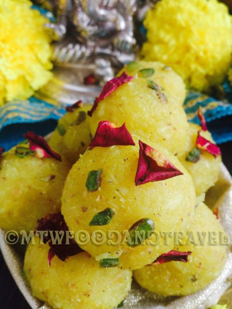 pineapple ladoo
