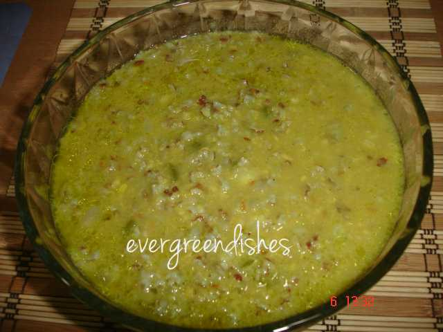 Brown rice pongal