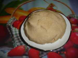 firm dough