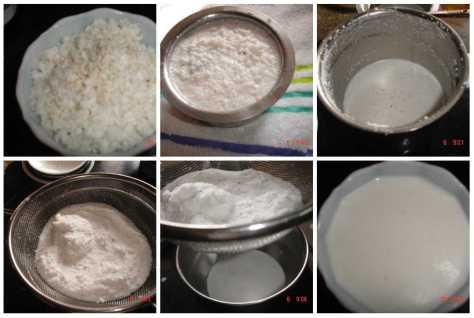 coconut milk extraction