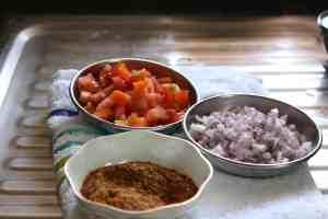 veggies and masala