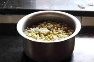 boiled peas