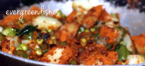 spice mix is put  Masala Bhath MB10 1024x470