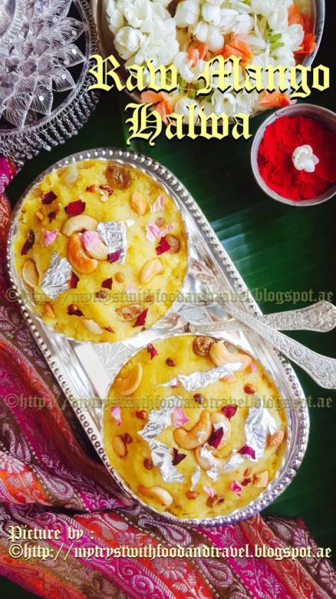 raw mango halwa  Ugadi special image 1 576x1024