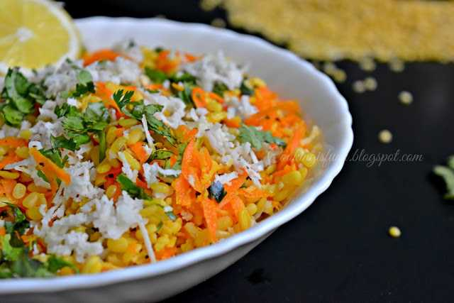moongdal salad