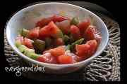 recipe image watermelon and cucumber salad Watermelon and cucumber salad watermelon salad1