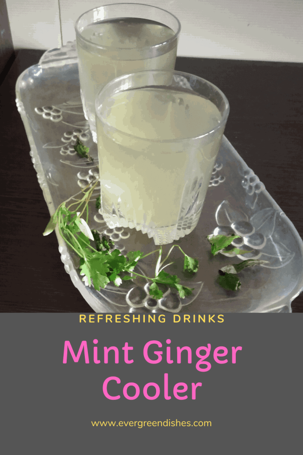 mint ginger cooler