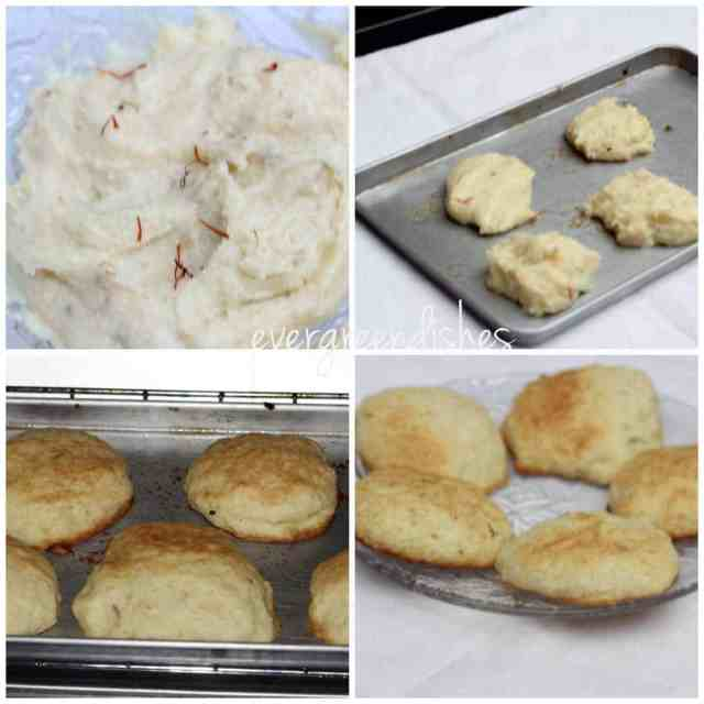 making of nan katai nan katai Nan Katai biscuits collage