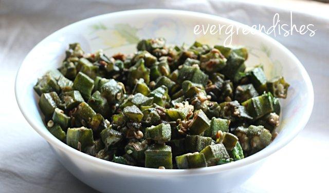 okra stirfry okra stir fry Delicious Okra stir fry, no onion garlic okra stirfry2 1