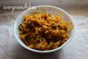 Bandhakopir tarkari  15 lunch box ideas cabbage bengali9 300x200