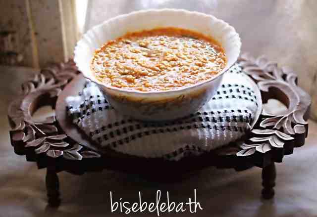 bisebelebath Bisebelebath, popular karnataka recipe bisebelebath3