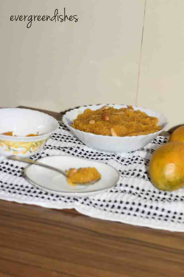 mango sheera mango sheera Mango sheera, Mango kesari, summer treats mango sheera1