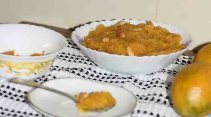 Mango sheera, Mango kesari, summer treats