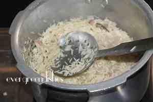 finally the rice