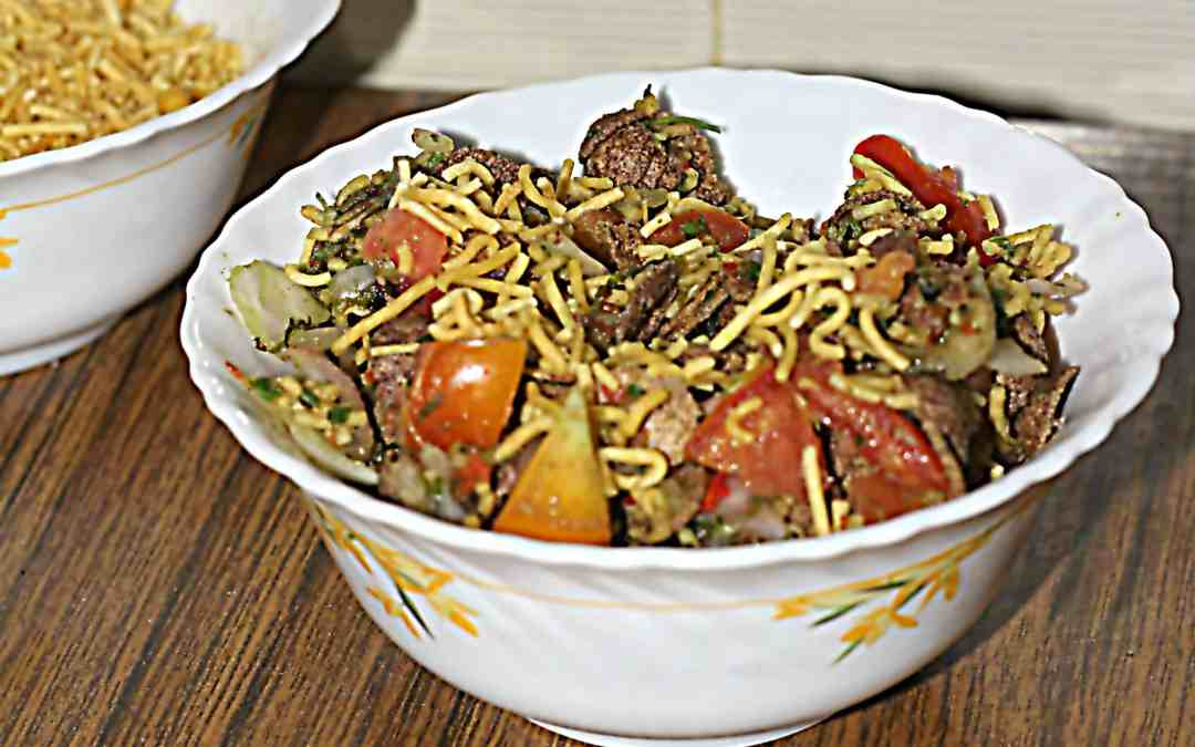 Cornflakes Bhel, healthy twist