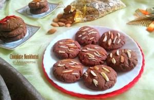chocolate nankhatai