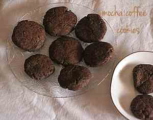 mocha coffee cookies