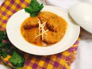 no onion garlic lauki kofta curry