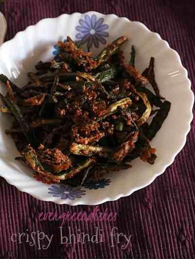 Kurkuri bhindi | crispy bhindi fry