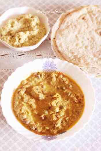 Tuvar lilva masala curry
