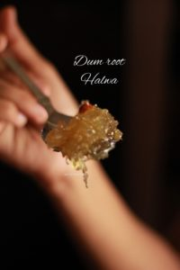 dum root halwa