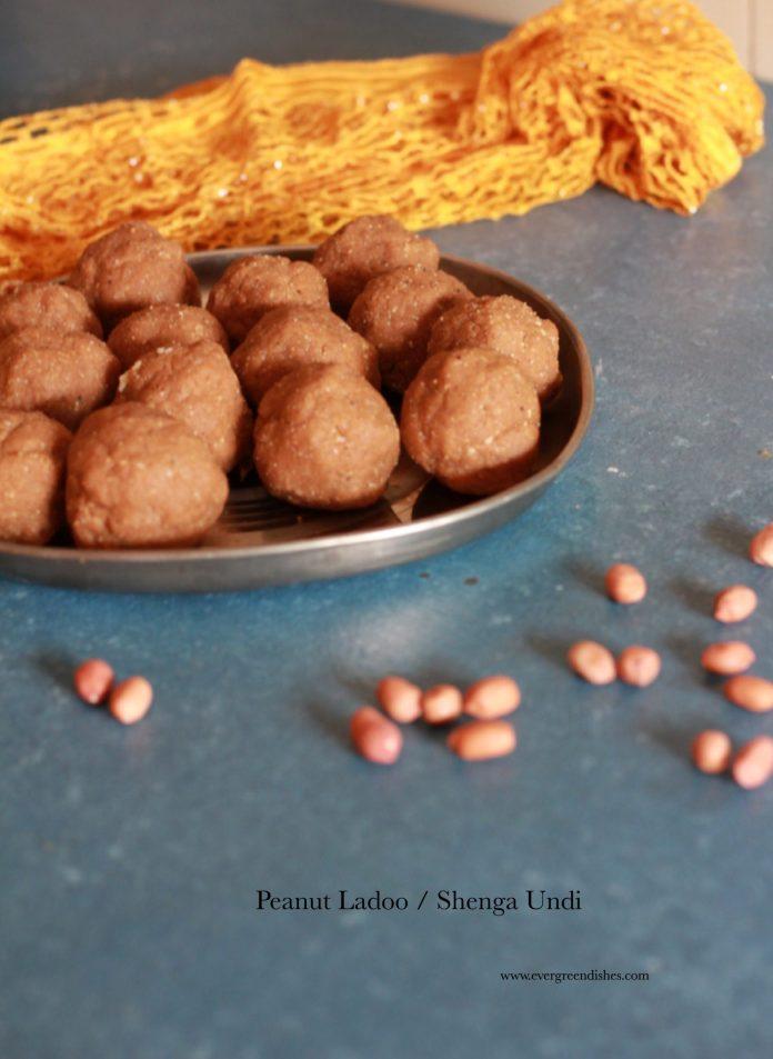 peanut ladoo/shenga undi