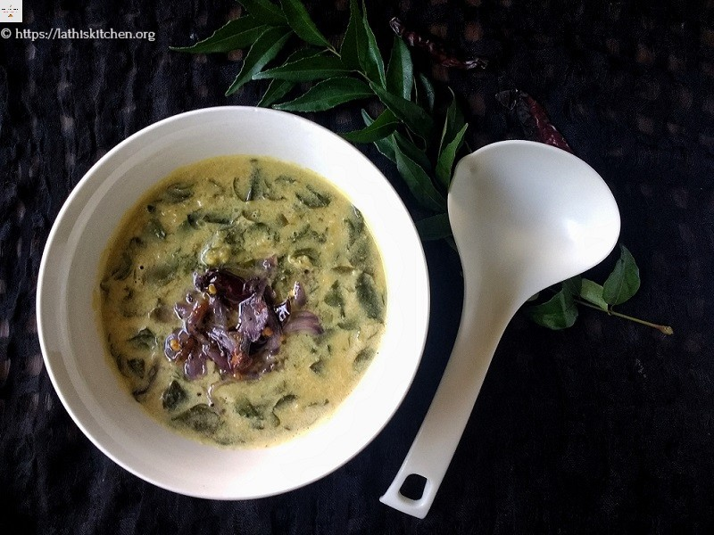 drumstick leaves dal with coconut | guest post