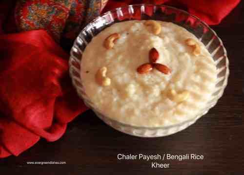 chaler payesh /bengali rice kheer