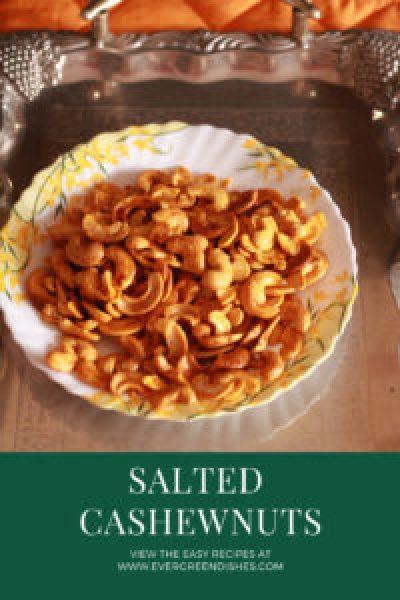 Salty Cashew nuts