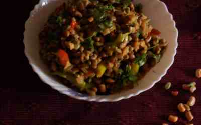 Black eyed bean veggie
