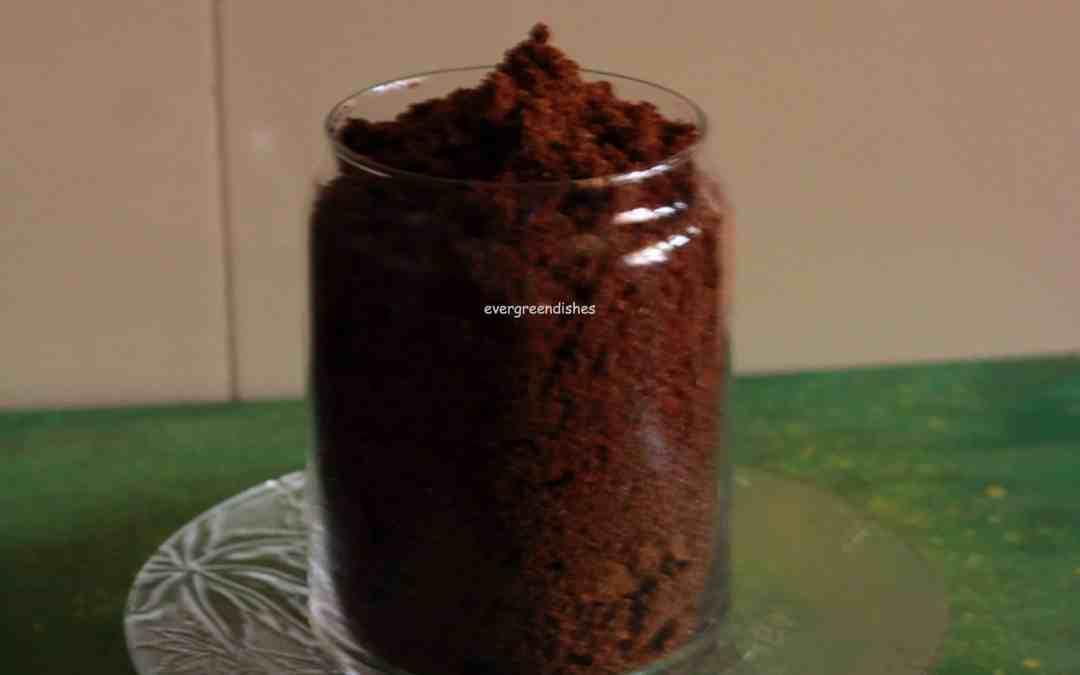 Flaxseed Chutney Powder / Agase Chutney Pudi