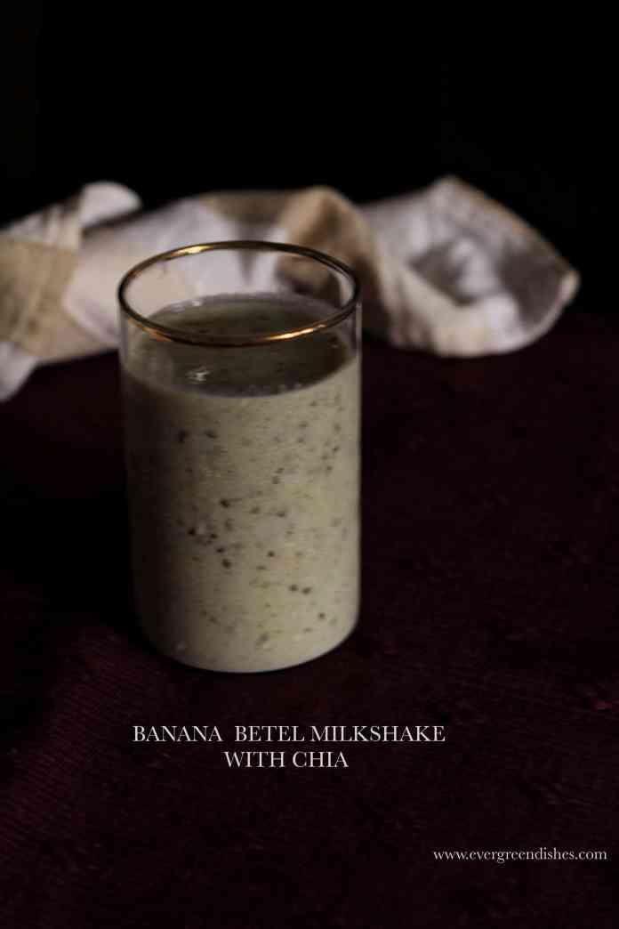 Banana Betel Milkshake