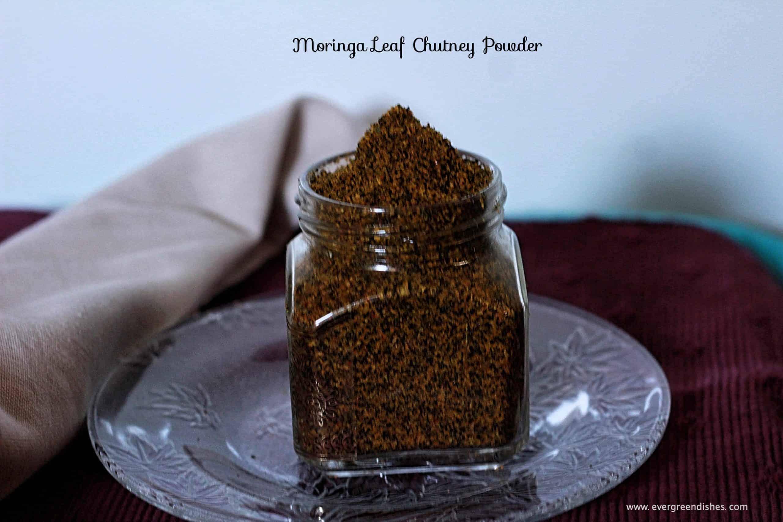 moringa leaf chutney powder