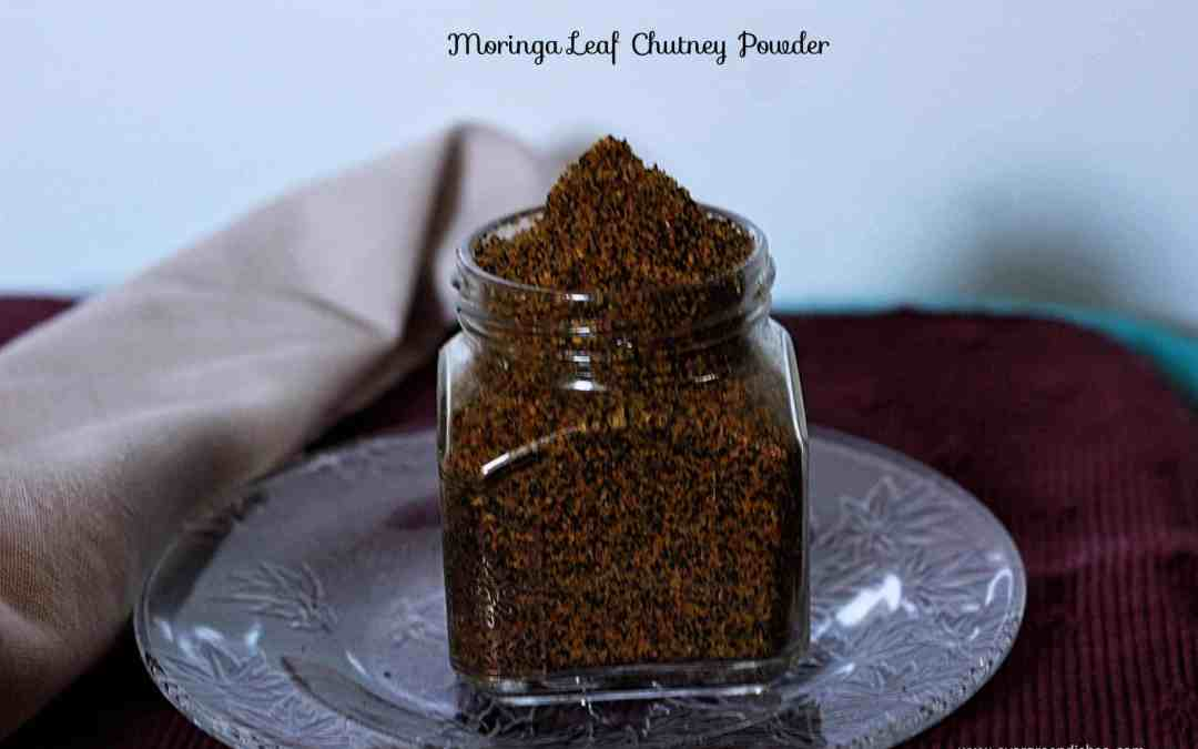 Moringa leaves chutney powder / Drumstick leaves powder recipe