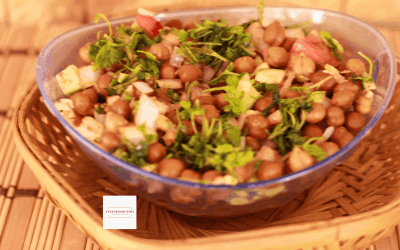 Kala Chana Salad / Black Chickpea Salad / Kala Chana Chaat