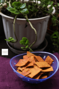 Baked Wheat Crackers