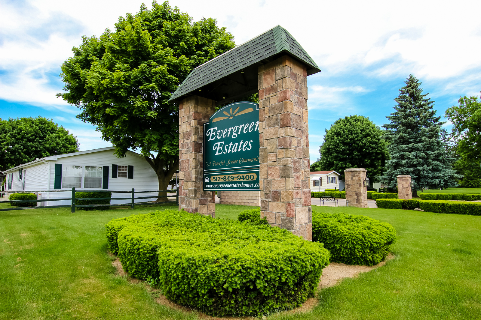 Evergreen Estates | Senior Manufactured Homes Community