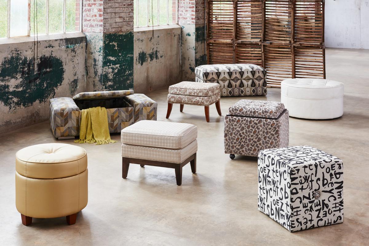 La Z Boy Ottomans Michigan City Indiana Evergreen Furniture
