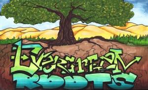 graffiti evergreen