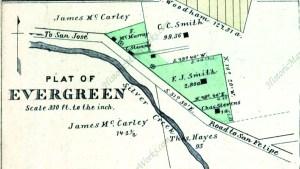 Map 004, Saratoga, Evergreen, Santa Clara, San Antonio, Mountai